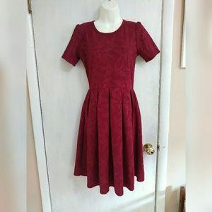 LuLaRoe textured bird dress